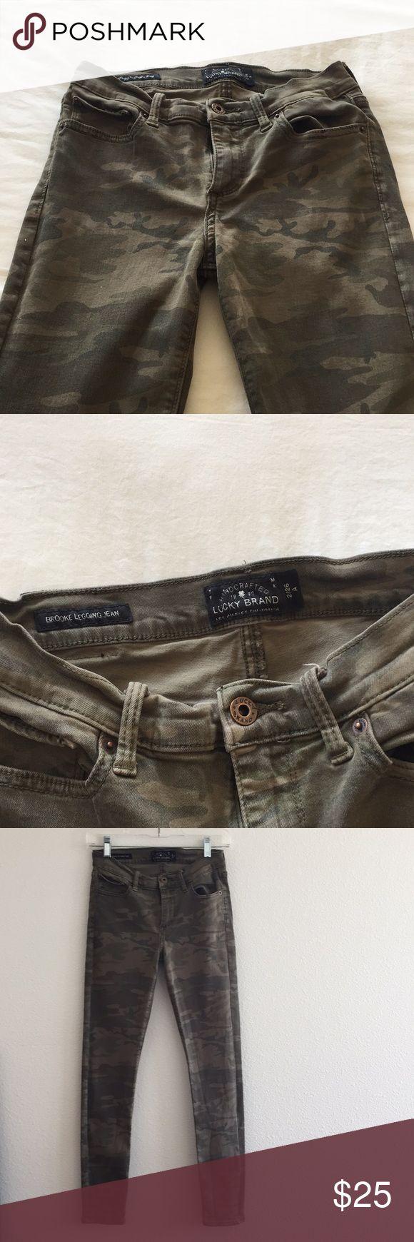 Lucky Brand Camo Brooke Legging Jeans 2/26 A Lucky Brand Brooke Legging Jeans  G…