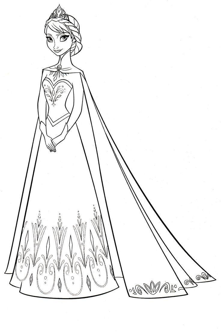 frozen coloring pages online - 545 best images about frozen on pinterest frozen