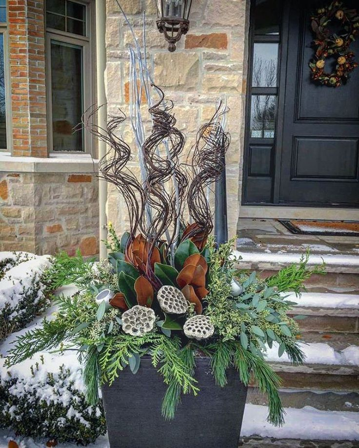 17 Best Ideas About Christmas Urns On Pinterest