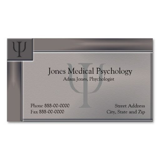 231 best images about Psychology Business Card Templates on Pinterest