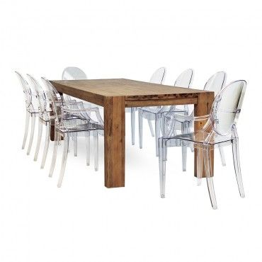 3789e0b4b59b0 Palma 8 Seater Dining Table + 8 Casper Dining Chairs R 19995 ...