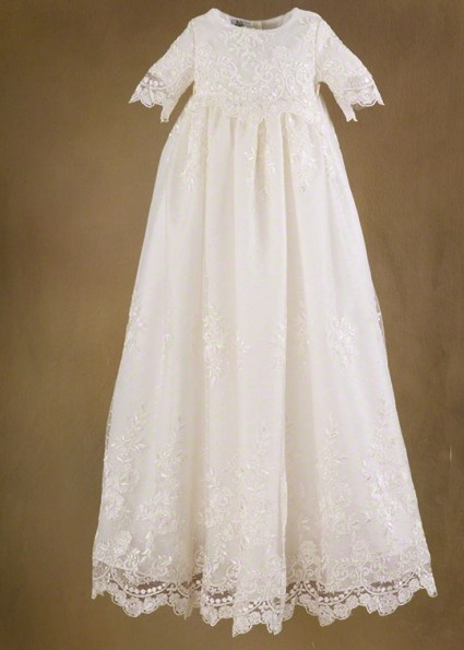 Ivory Christening Gowns - Memory