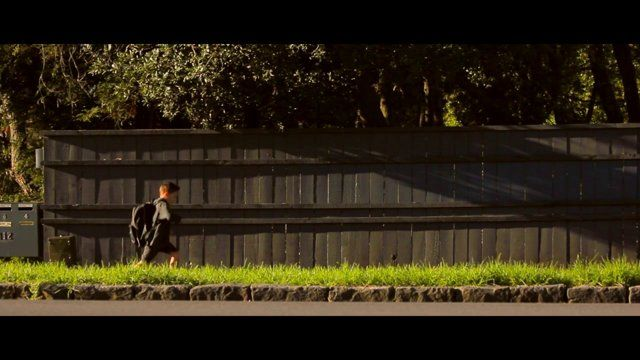 The Shadow. A poignant short film about a small boy and his shadow.