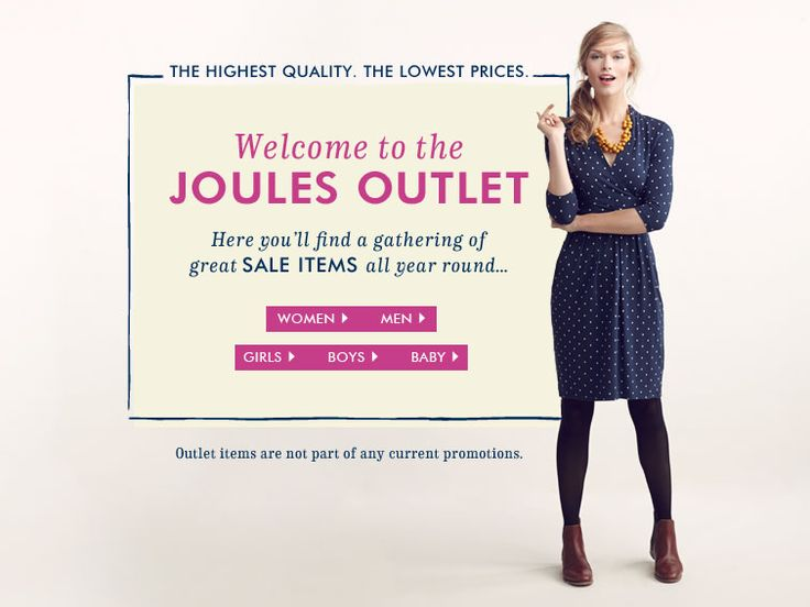 Welcome to the Joules Outlet