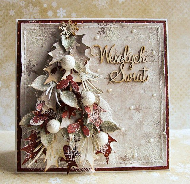 Dorota_mk: Again a small rash of Christmas cards .....