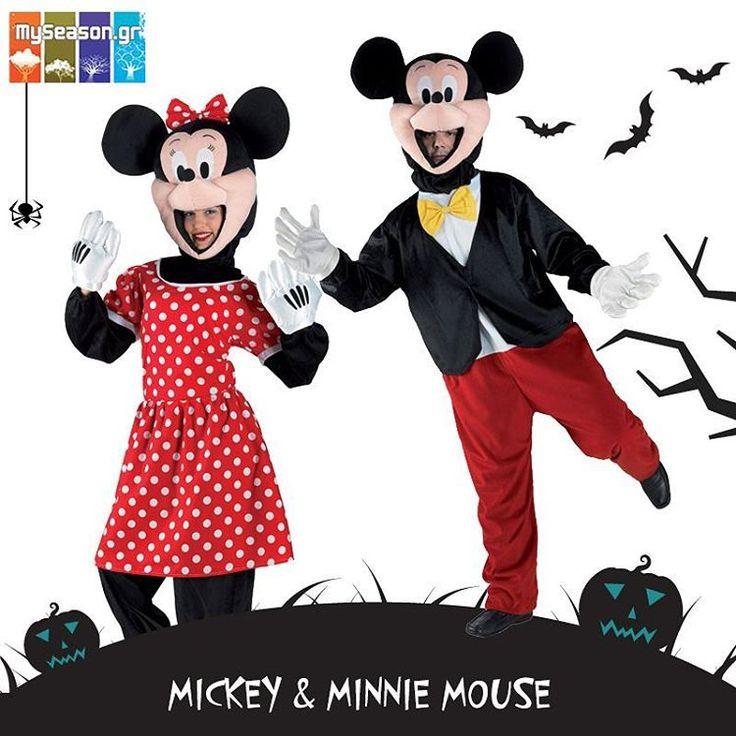 Στο #MySeason θα βρείτε στολές βγαλμένες απευθείας από τα αγαπημένα μας καρτούν! Σε αυτό το #καρναβάλι ντυθείτε #Μίκυ και #Μίνι και διασκεδάστε με την καρδιά σας!  Mickey Mouse: http://goo.gl/XD9Blf Minnie Mouse: http://goo.gl/yJBql4 #MickeyMouse #MinnieMouse #cartoon #paidika #apokries #apokries2016 #karnavali #karnavali2016 #stoles #stoli