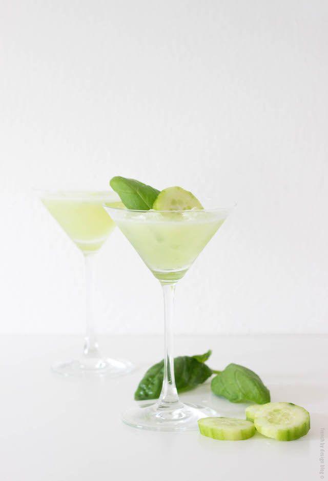 Basil Cucumber Martini Recipe
