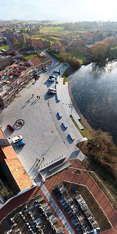 Renovation of the Village Centre of Machelen-aan-de-Leie 14 photo sofam2009 « Landscape Architecture Works | Landezine