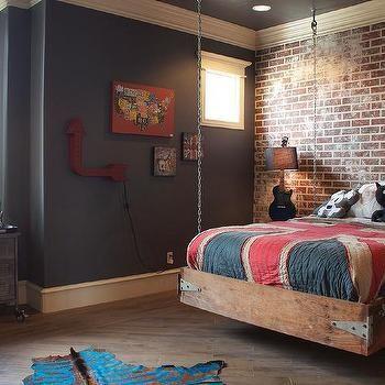 hanging kids bed - Boy Bed Frames