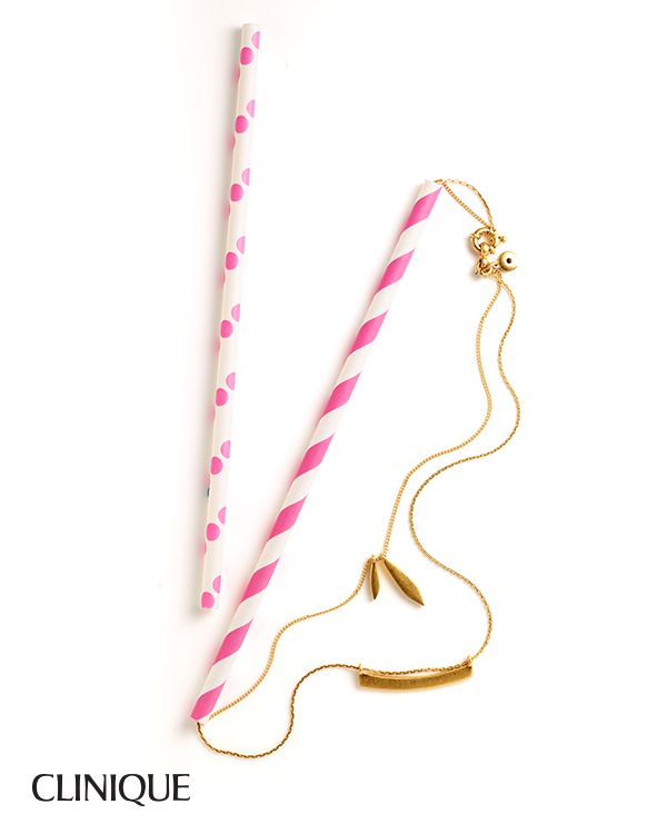 Smart Does More: Thread a necklace through a straw to prevent tangling when traveling.