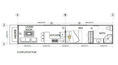 Shipping Container Home Floorplans #84809500772 …
