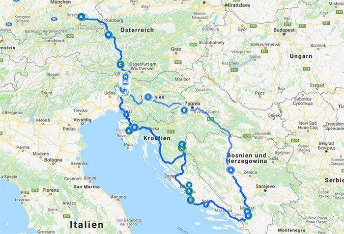 Unser SommerRoadtrip Mit dem VWBus durch Slowenien
