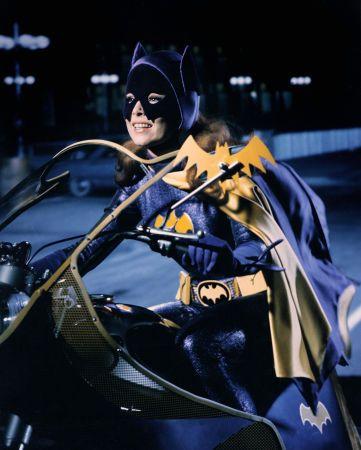 "Yvonne Craig as Batgirl  ""Batman"" (1966-68)"
