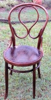 FIXED PRICE ! Near Antique - Bentwood Dining Chair - 1 ONLY ! | Dining Chairs | Gumtree Australia Logan Area - Logan Central | 1107208346