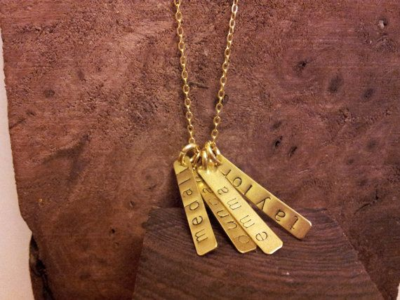 Name pendants by Houndstooth and Nail