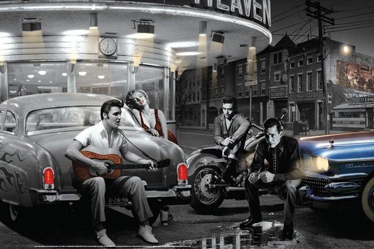 Chris Consani Legendary Crossroads Elvis Presley Marilyn