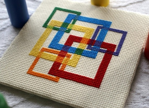 ...get back into designing cross stitch patterns and reopen my etsy shop.