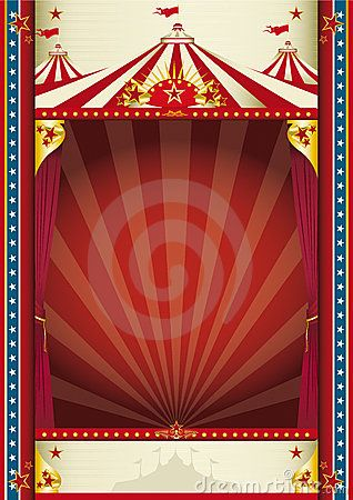 Vintage circus | Vintage Circus Background Royalty Free Stock Photo - Image: 12170435