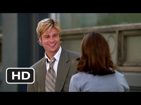 Only for Brad Pitt's smile :))) -  Meet Joe Black (2/10) Movie CLIP - I Like You So Much (1998) HD