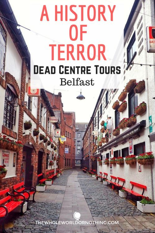 A History of Terror: Dead Centre Tours Belfast | A Belfast Walking Tour. Travel in Northern Ireland.