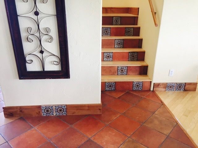 Mexican Tile Designs Carries A Full Line Of Mexican Floor Tiles/Pavers  Suitable For Flooring