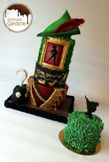 Peter pan cake and smash cake