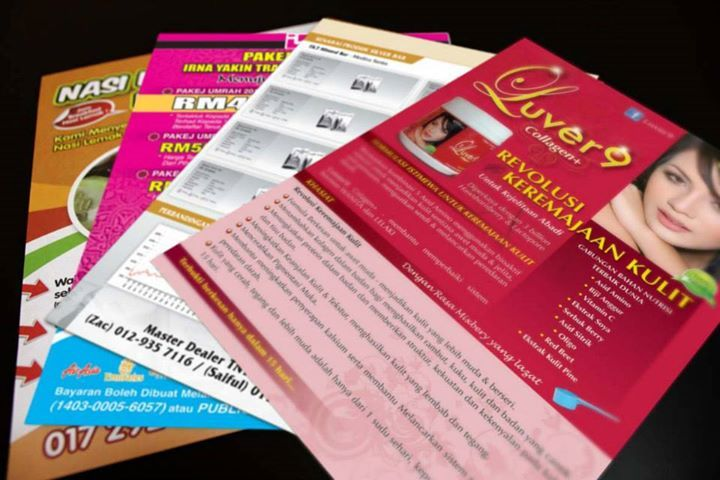 #FLYER • Price: €115.00 • Printed on 120 laser • Full Colour to either one or two sides • Size: 74x105