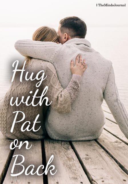 pat on the back hug