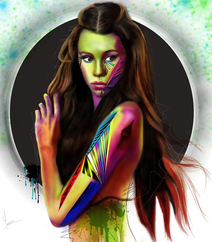 Art POP Dibujo Dgtl Y.m.c