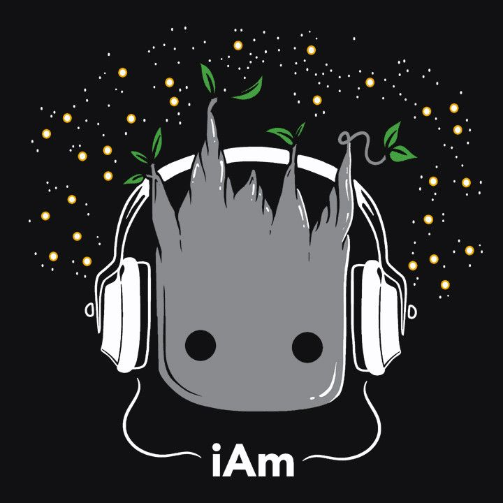 """""""i Am"""" Cute Groot T-Shirt 