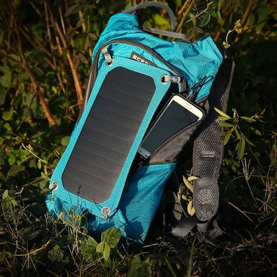 By capturing more sunlight than its contemporaries, this solar backpack is…