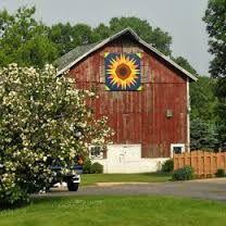 Image result for sunflower barn quilt pattern                                                                                                                                                      More