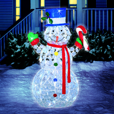 Led lighted christmas decorations 42 led random for Large outdoor christmas decorations for sale