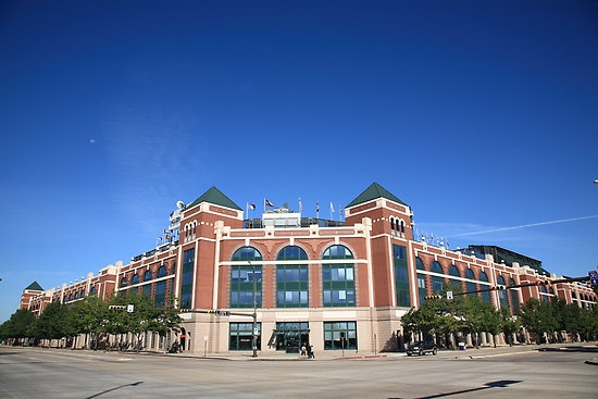 Texas Rangers Ballpark - opening day 2012 - I'm there but hey we're dreaming big - I will be a Rangers season ticket holder