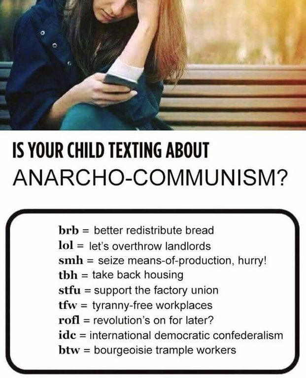 Is your child texting about anarcho-communism? : LateStageCapitalism