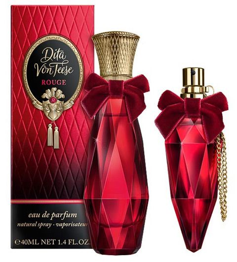 Dita Von Teese  Rouge  This has notes of orange, black lapsang souchong and and amber - must try!