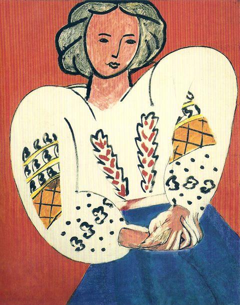 Henri Matisse. Romanian Blouse, 1940.