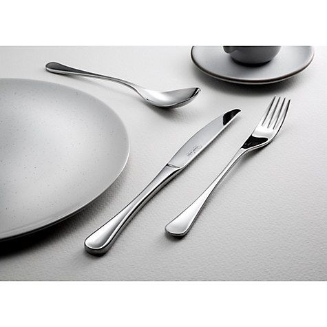 Buy Robert Welch RW2 Satin Cutlery Set, 56 Piece Online at johnlewis.com
