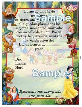 La invitacin est hecha en Word. La puede editar como desee.Salen 4 invitaciones por hoja.