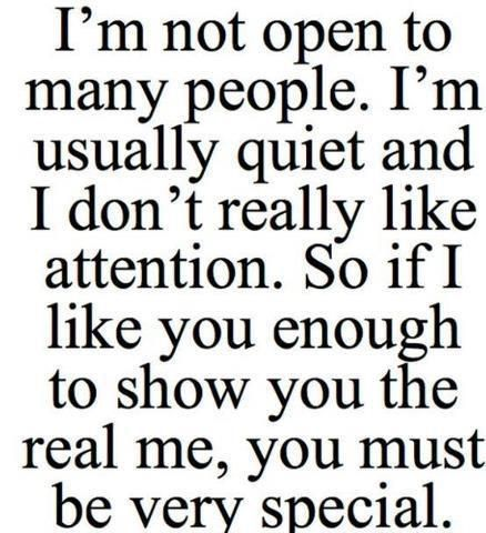 """You are not """"people"""" to impress, you are mine and to you I need to express."""