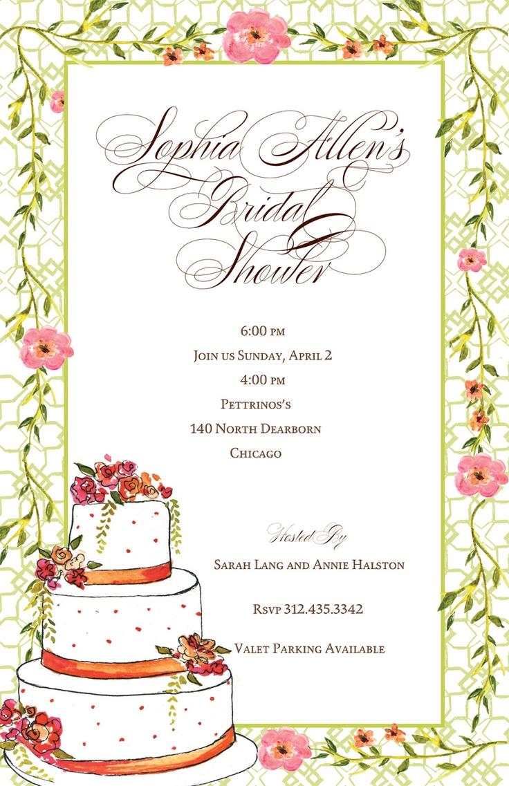 13 best Wedding Invitations images on Pinterest   Bridal invitations ...