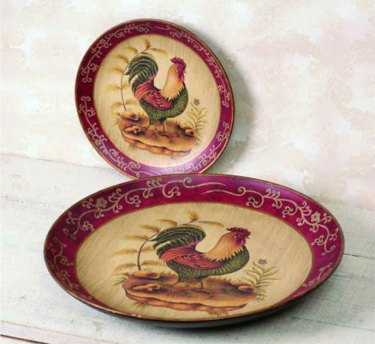 //.openwindowdesigns.com/Ceramic Rooster Plate% & 61 best Rooster Dinnerware images on Pinterest | Roosters Dinner ...