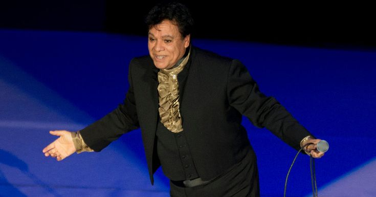 """Juan Gabriel, 66, Mexican music icon, dies in CA, while on tour. """"His father, Gabriel Aguilera, was committed to a mental hospital, and his mother took the family of 10 to Ciudad Juárez, Mexico, across the Texas border from El Paso. Unable to support Gabriel, she placed him in a children's home when he was 5. It was there that he met Juan Contreras, a deaf musician who had played in a band. Juan Gabriel chose the stage name in honor of both his father and Mr. Contreras, his first teacher.""""…"""