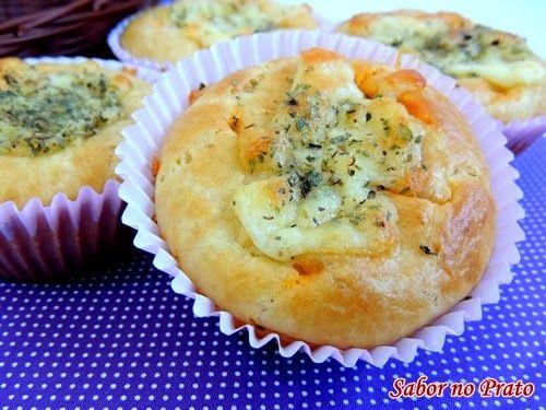 Cupcake de Atum com Requeijão Cremoso