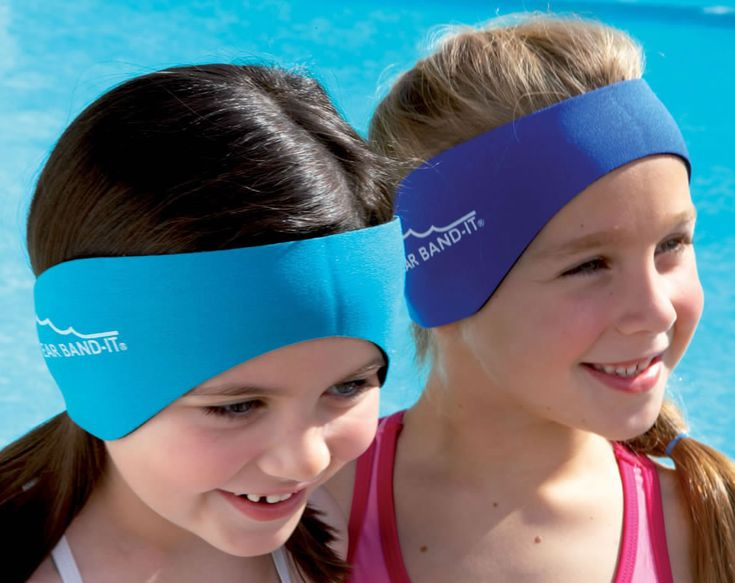How to use the Ear Band-It Ear plug Headband System for Swimmers