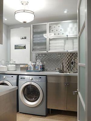Laundry rooms and mudrooms - mylusciouslife.com - Sarah Richardson - laundry - season 1