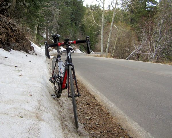 Snow at the top of Mt Lemmon in Tucson #Cycling in #Arizona #DoItLikeaLocal