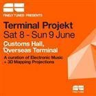 Tickets to Terminal Projekt. Just for Jimmy Edgar really. Overseas Passenger Terminal. June 8th. $ 63.40.