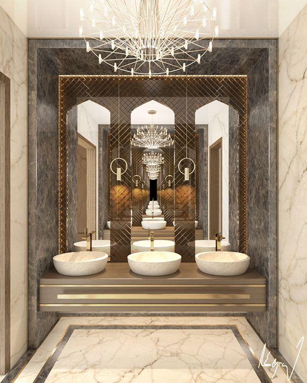 Islamic Modern Majlis In Doha Qatar On Behance Interior Design Work Living Room Design Modern Modern