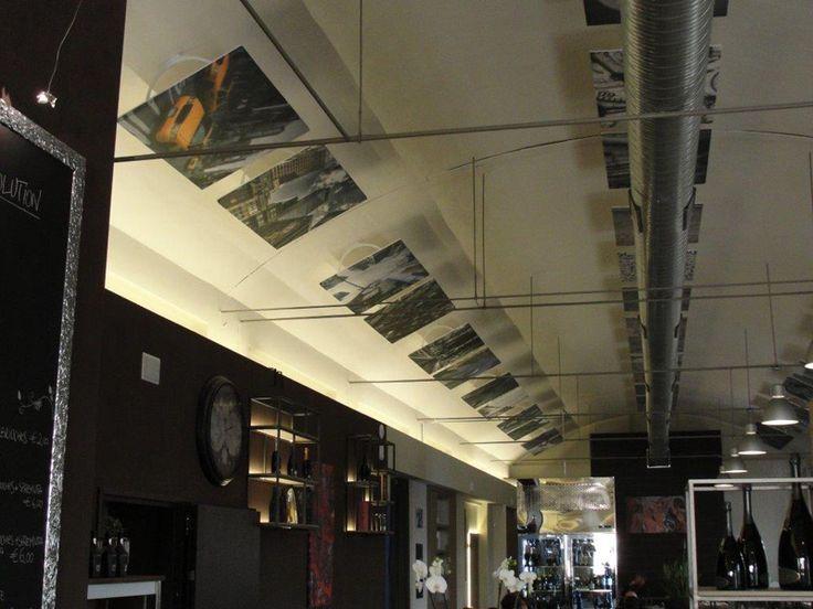 fonostile® #restaurant #ceiling
